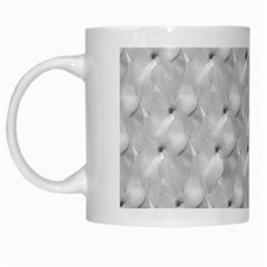 Ditsy Flowers Collage White Mugs by dflcprints