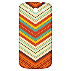 Bent Stripes                                    samsung Galaxy S3 S Iii Classic Hardshell Back Case by LalyLauraFLM