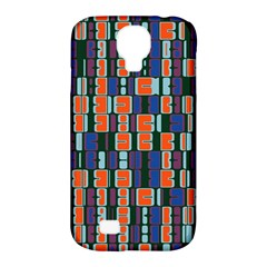 4 Colors Shapes                                    samsung Galaxy S4 Classic Hardshell Case (pc+silicone) by LalyLauraFLM
