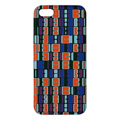 4 Colors Shapes                                    iphone 5s Premium Hardshell Case by LalyLauraFLM