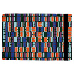 4 colors shapes                                    			Apple iPad Air Flip Case by LalyLauraFLM