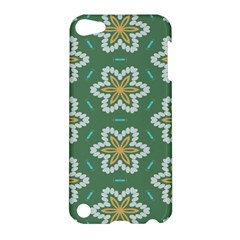 Yellow Flowers Pattern                                    			apple Ipod Touch 5 Hardshell Case by LalyLauraFLM
