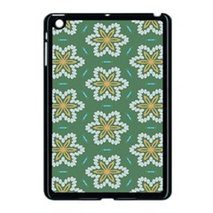 Yellow Flowers Pattern                                    			apple Ipad Mini Case (black) by LalyLauraFLM