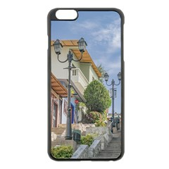 Cerro Santa Ana Guayaquil Ecuador Apple Iphone 6 Plus/6s Plus Black Enamel Case by dflcprints