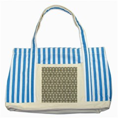 Numerilogical  Striped Blue Tote Bag by MRTACPANS