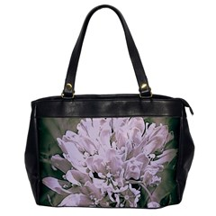 White Flower Office Handbags by uniquedesignsbycassie