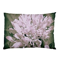 White Flower Pillow Case (two Sides) by uniquedesignsbycassie