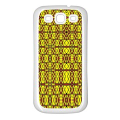 Small  Big Samsung Galaxy S3 Back Case (white) by MRTACPANS