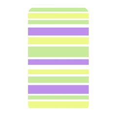 Yellow Purple Green Stripes Memory Card Reader by BrightVibesDesign