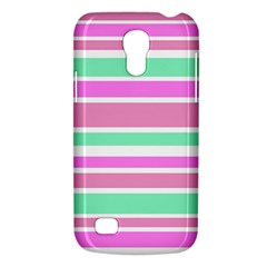 Pink Green Stripes Galaxy S4 Mini