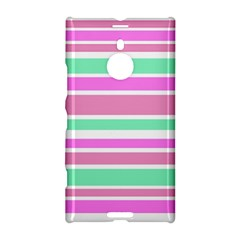 Pink Green Stripes Nokia Lumia 1520 by BrightVibesDesign