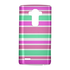Pink Green Stripes LG G4 Hardshell Case