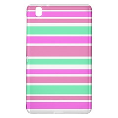 Pink Green Stripes Samsung Galaxy Tab Pro 8.4 Hardshell Case