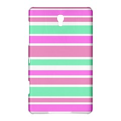 Pink Green Stripes Samsung Galaxy Tab S (8.4 ) Hardshell Case