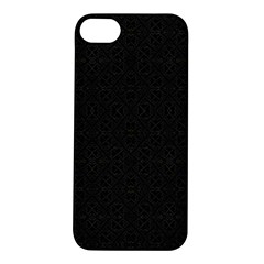 Black Perfect Stitch Apple Iphone 5s/ Se Hardshell Case by MRTACPANS