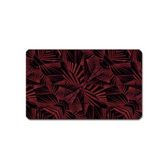 Sharp Tribal Pattern Magnet (name Card) by dflcprints