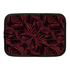 Sharp Tribal Pattern Netbook Case (medium)  by dflcprints
