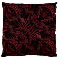 Sharp Tribal Pattern Large Cushion Case (one Side) by dflcprints