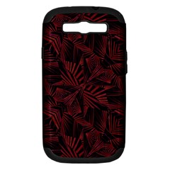 Sharp Tribal Pattern Samsung Galaxy S Iii Hardshell Case (pc+silicone) by dflcprints