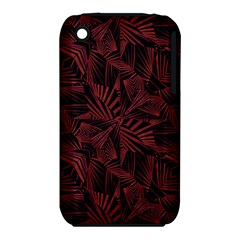 Sharp Tribal Pattern Apple Iphone 3g/3gs Hardshell Case (pc+silicone) by dflcprints