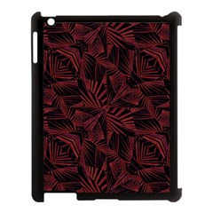 Sharp Tribal Pattern Apple Ipad 3/4 Case (black) by dflcprints