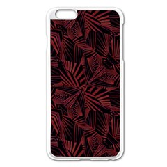 Sharp Tribal Pattern Apple Iphone 6 Plus/6s Plus Enamel White Case by dflcprints