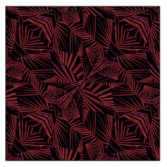 Sharp Tribal Pattern Large Satin Scarf (square) by dflcprints