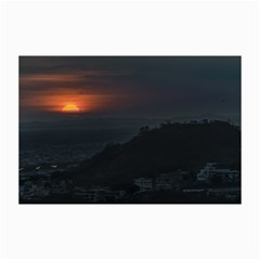 Sunset Scene Landscape Aerial View In Guayaquil From Cerro Del Carmen Collage Prints by dflcprints