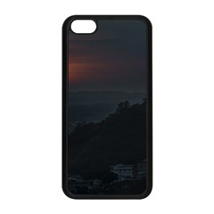 Sunset Scene Landscape Aerial View In Guayaquil From Cerro Del Carmen Apple Iphone 5c Seamless Case (black) by dflcprints