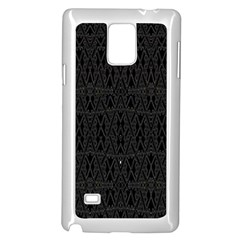 Dark Moon Samsung Galaxy Note 4 Case (white) by MRTACPANS
