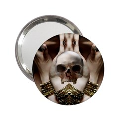 Skull Magic 2 25  Handbag Mirrors by icarusismartdesigns