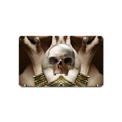 Skull Magic Magnet (name Card) by icarusismartdesigns