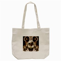 Skull Magic Tote Bag (cream) by icarusismartdesigns