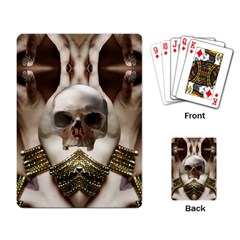 Skull Magic Playing Card by icarusismartdesigns