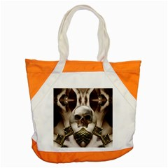 Skull Magic Accent Tote Bag by icarusismartdesigns