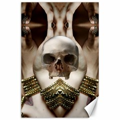 Skull Magic Canvas 24  X 36  by icarusismartdesigns