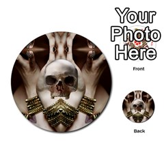 Skull Magic Multi Purpose Cards (round)  by icarusismartdesigns