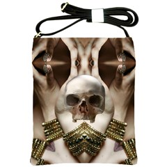 Skull Magic Shoulder Sling Bags by icarusismartdesigns