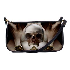 Skull Magic Shoulder Clutch Bags by icarusismartdesigns