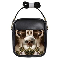 Skull Magic Girls Sling Bags by icarusismartdesigns