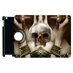 Skull Magic Apple Ipad 2 Flip 360 Case by icarusismartdesigns