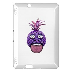 Funny Fruit Face Head Character Kindle Fire Hdx Hardshell Case by dflcprints