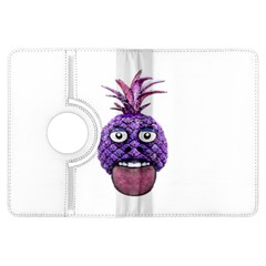 Funny Fruit Face Head Character Kindle Fire Hdx Flip 360 Case by dflcprints
