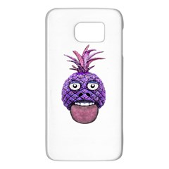 Funny Fruit Face Head Character Galaxy S6 by dflcprints