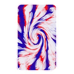 Groovy Red White Blue Swirl Memory Card Reader by BrightVibesDesign