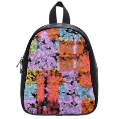 Paint Texture                                     school Bag (small) by LalyLauraFLM
