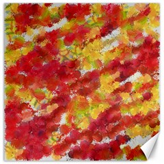 Colorful Splatters                                      			canvas 12  X 12  by LalyLauraFLM