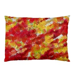 Colorful Splatters                                      			pillow Case by LalyLauraFLM
