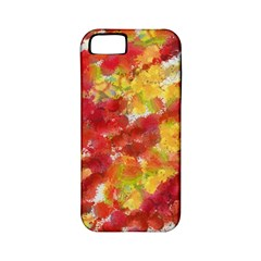 Colorful Splatters                                      			apple Iphone 5 Classic Hardshell Case (pc+silicone) by LalyLauraFLM