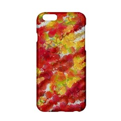 Colorful Splatters                                      			apple Iphone 6/6s Hardshell Case by LalyLauraFLM